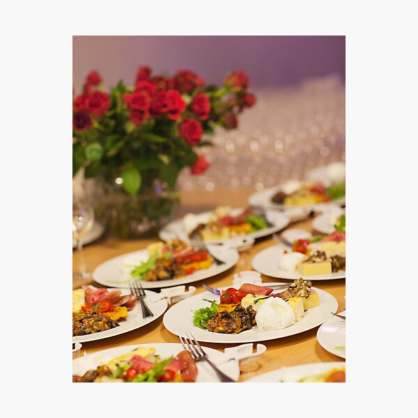 Event Food Shot Photographic Print