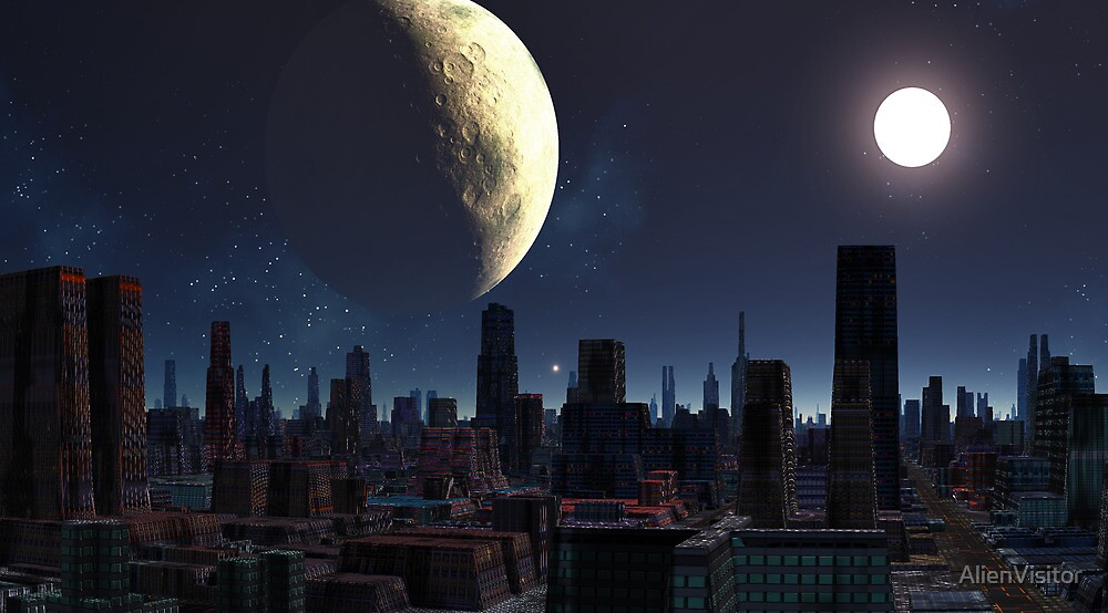 Miners Moon by AlienVisitor