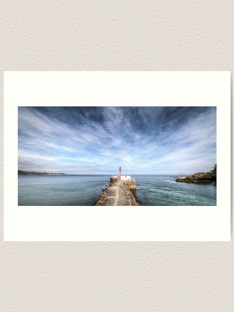 Alternate view of Banjo Pier, Looe - 06/05/19 Art Print