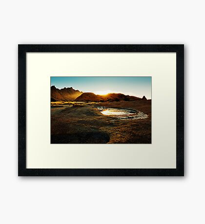Namibia Dawn Framed Print