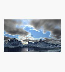Storm Clouds Passing Photographic Print