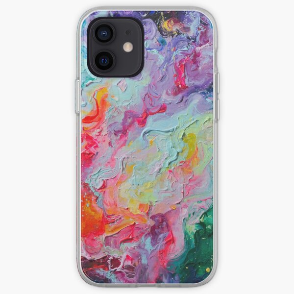 Elements - Spectrum Abstraction iPhone Soft Case