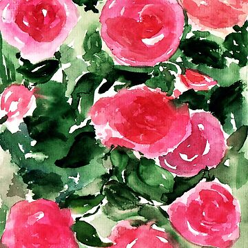 Watercolor Roses  de KaylaPhan