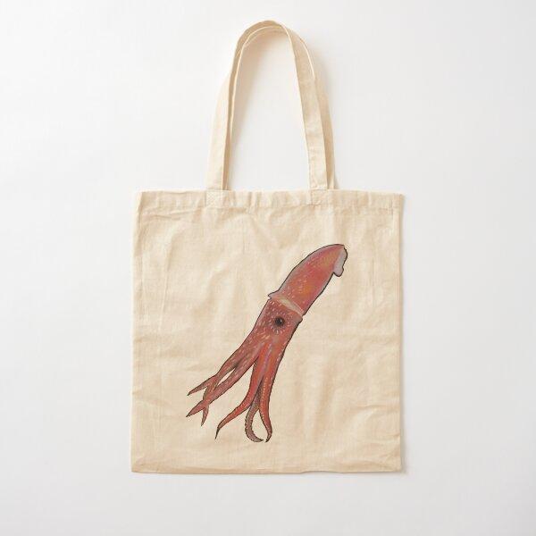 Squid Cotton Tote Bag
