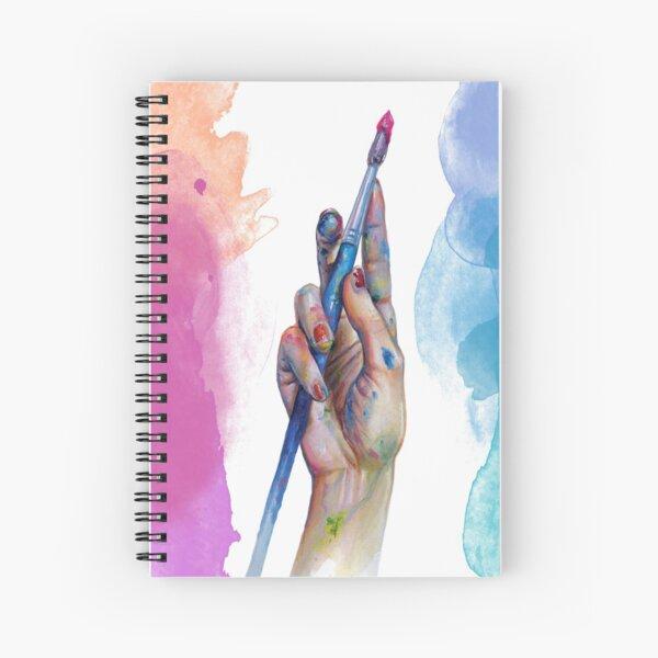 Painter's Hand Spiral Notebook