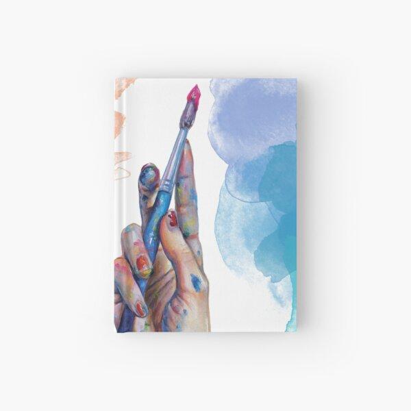 Malerhand Notizbuch
