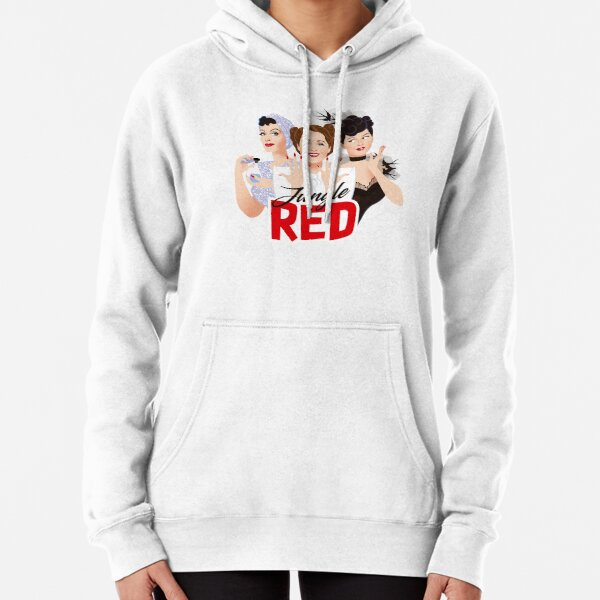 Jungle Red Pullover Hoodie