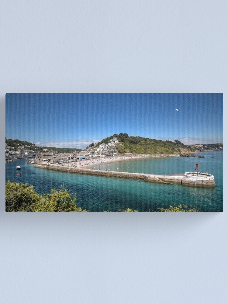 Alternate view of Looe Harbour - 09/07/19 Canvas Print