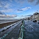 Brighton Seafront at Dawn by John Lines
