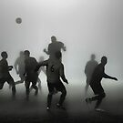 Soccer in the Mist by John Lines