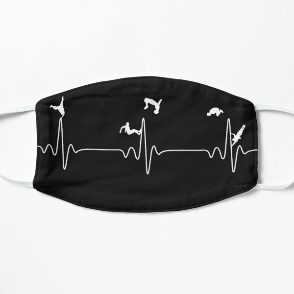 Heartbeat Parkour for lovers Mask