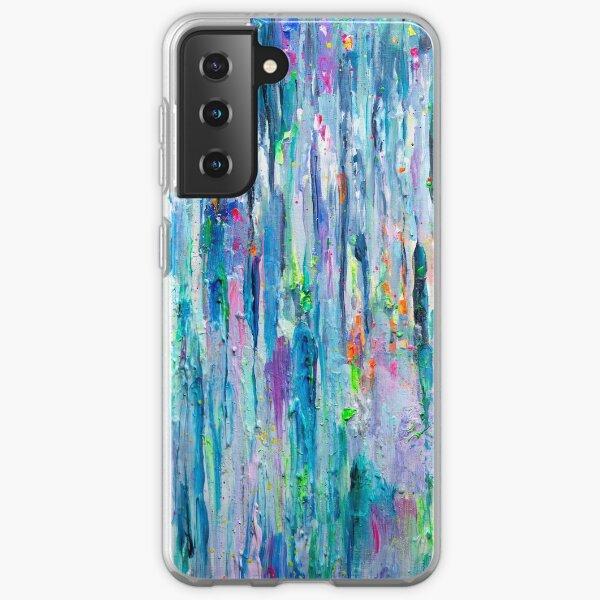 Silver Rain Samsung Galaxy Soft Case