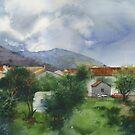 Budva after rain by Sergei Kurbatov