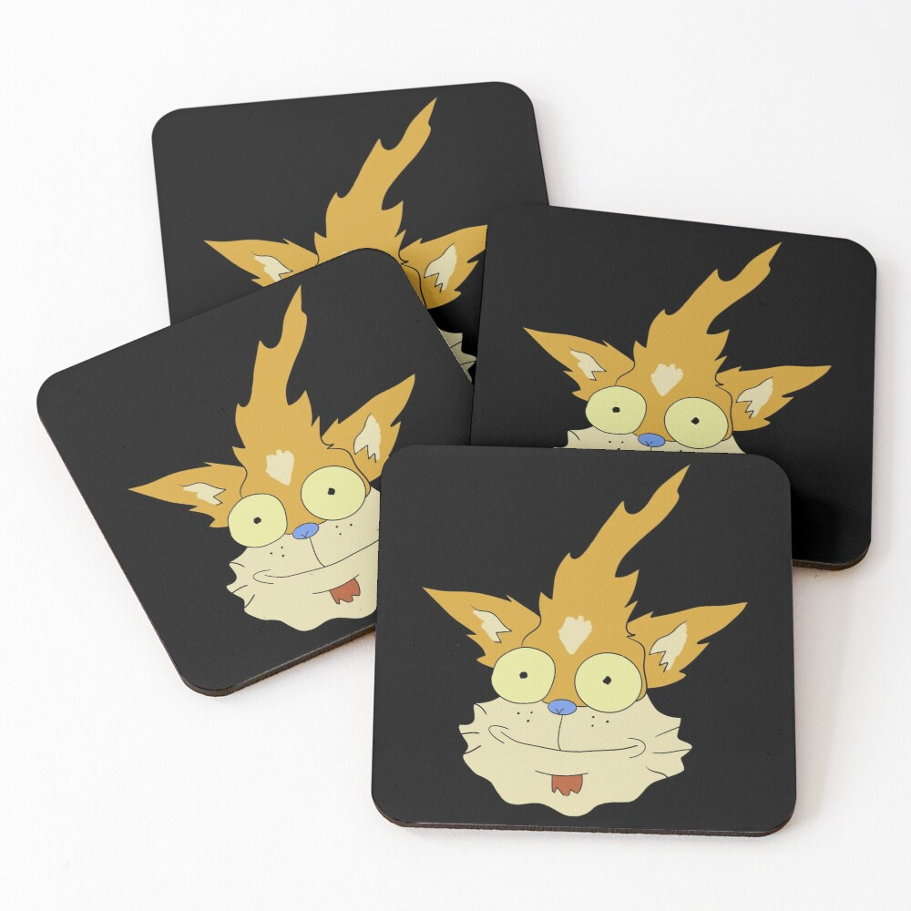 Squanchy - Rick and Morty Coasters (Set of 4)