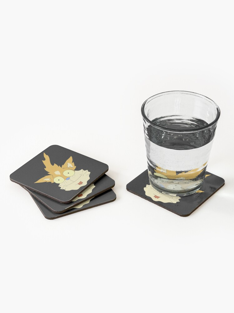 Alternate view of Squanchy - Rick and Morty Coasters (Set of 4)