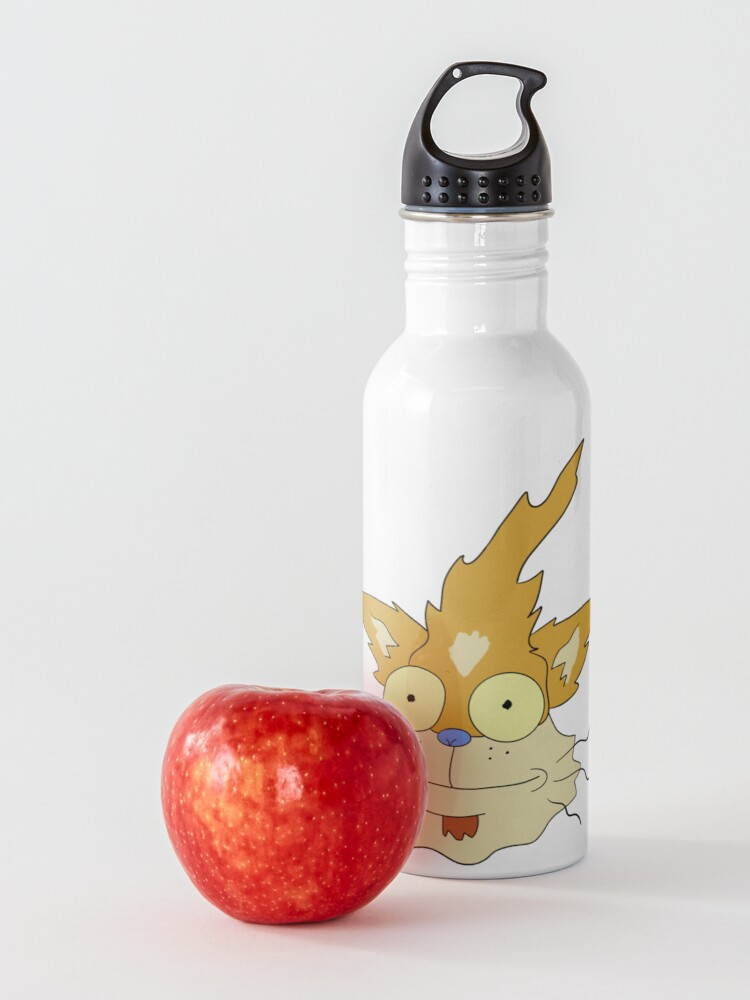 Alternate view of Squanchy - Rick and Morty Water Bottle