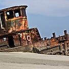 Old Tug Boat  by Brenda  Meeks