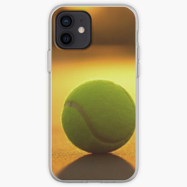 Balle de tennis court de tennis Coque souple iPhone