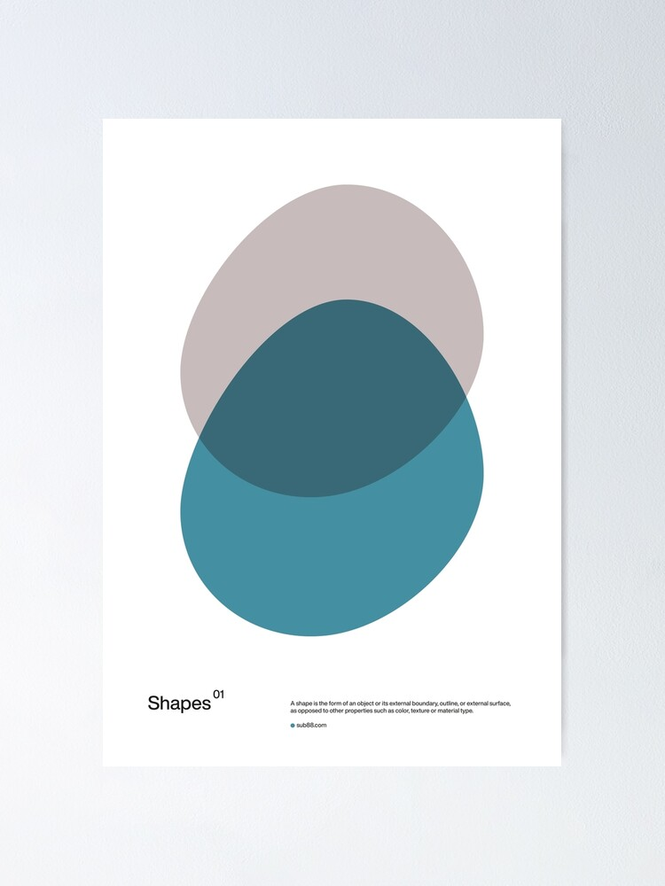 Alternate view of Shapes 01 Poster