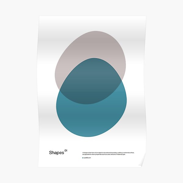 Shapes 01 Poster
