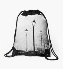 Fog light Drawstring Bag