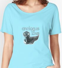 Analogue Love Women's Relaxed Fit T-Shirt