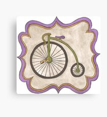 Penny-farthing Canvas Print