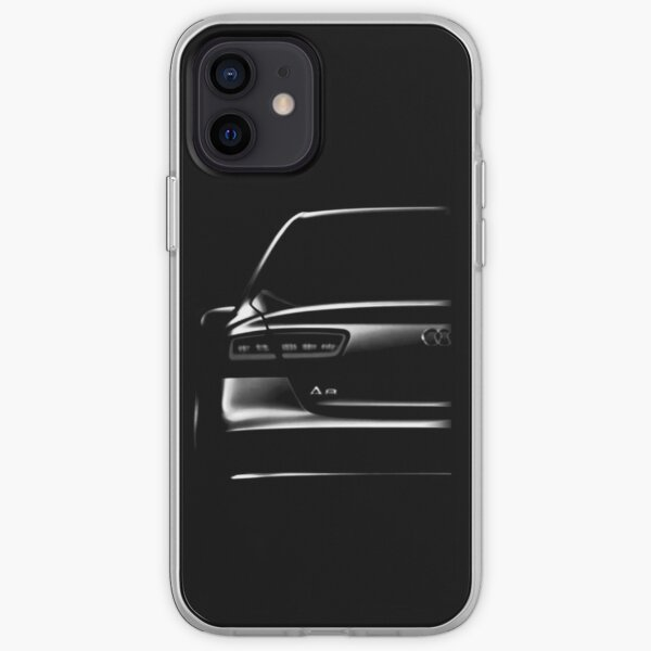 Audi a8 Coque souple iPhone