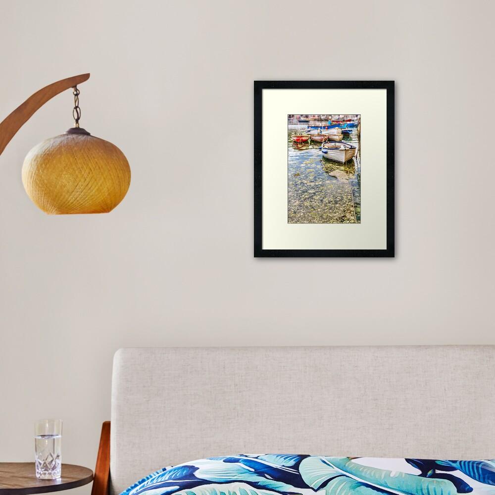Mevagissey Clinkers - 12/07/19 Framed Art Print