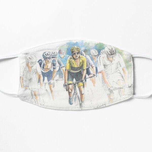Tour de France - maillot jaune Masque sans plis