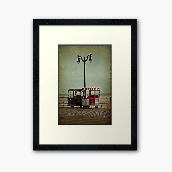 Wanna Ride? Framed Art Print