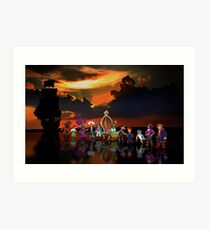 Secret of Monkey Island pixel art Art Print