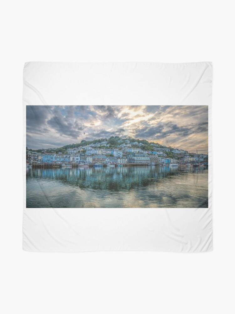 Alternate view of Reflections of West Looe - 15/07/19 Scarf