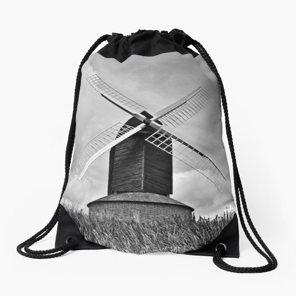 B&W Brill Windmill - 11/07/2009 Drawstring Bag