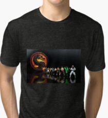 Mortal Kombat pixel art Tri-blend T-Shirt