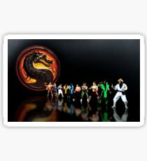 Mortal Kombat pixel art Sticker