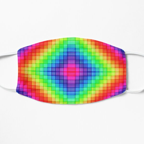 Pixellated Psychedelics Mask