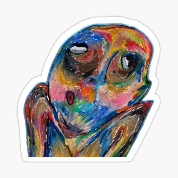 STILL WOOZY album art sticker: WINDOW Sticker