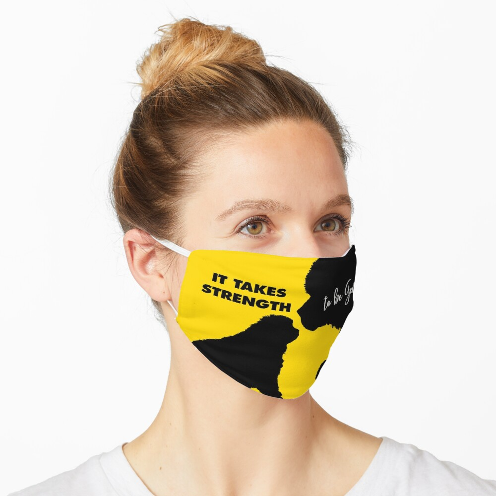 It Takes Strength Newfie Face Mask Mask