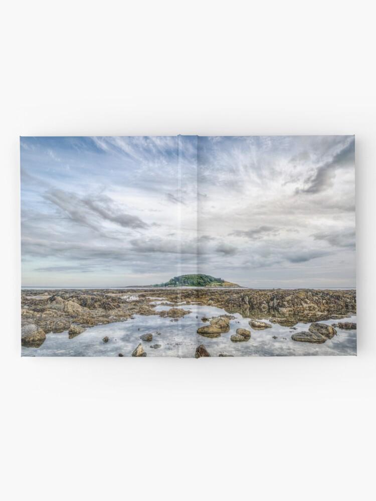 Alternate view of St George's Island, Looe - 28/07/19 Hardcover Journal