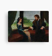 Lady Jane Grey - #4 Canvas Print