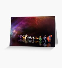 Earthworm Jim pixel art Greeting Card