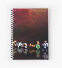 Earthworm Jim pixel art Spiral Notebook