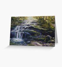 Leura Cascades, Blue Mountains, NSW Greeting Card