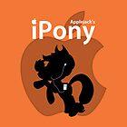 Applejack's iPony (with extra Apple!) by Eniac