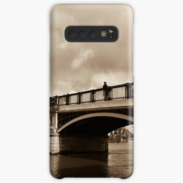 Bridge on river Thames in Windsor, UK Samsung Galaxy Snap Case