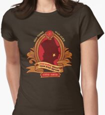 His Star-Burns Bright Womens Fitted T-Shirt