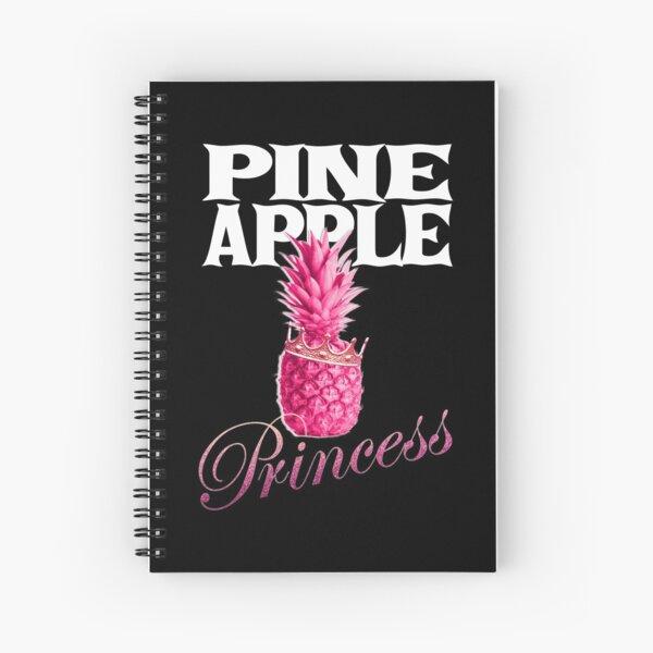 Pineapple Princess Spiral Notebook