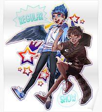 Regular Show - Nerd Team Poster