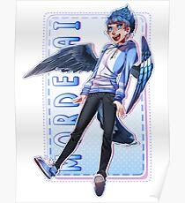 Regular Show - Mordecai Poster